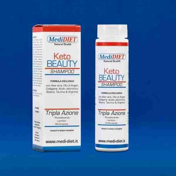 KETOBeauty Shampoo delicato per alimentazione chetogenica